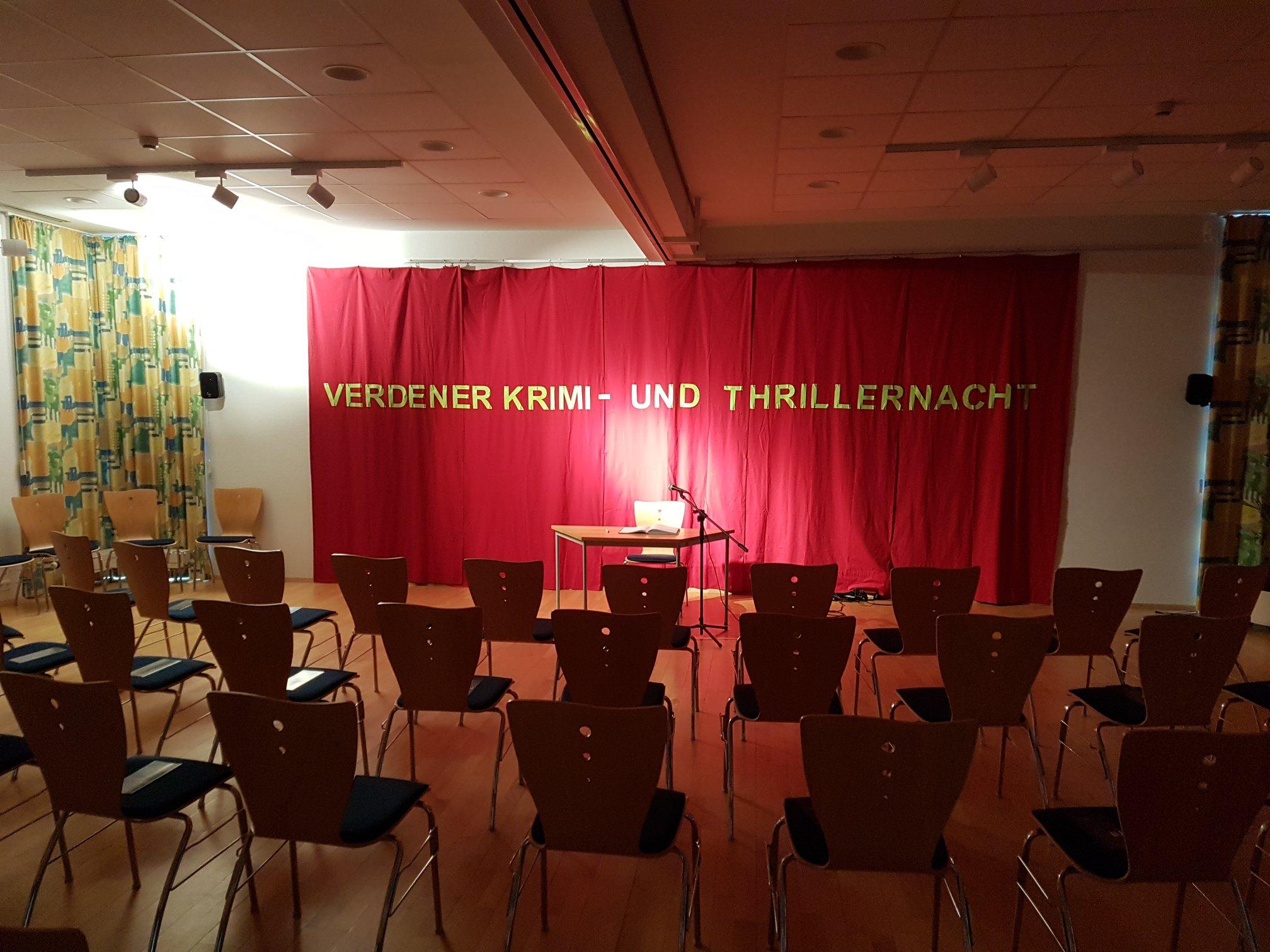 Verdener Krimi- und Thrillernacht 8.6.2018