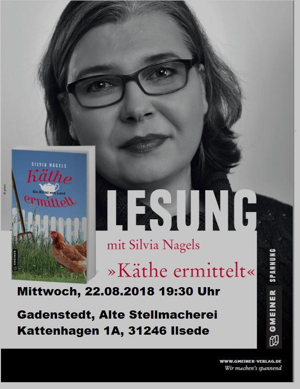 Interview und Lesung Silvia Nagels am 22.08.2018