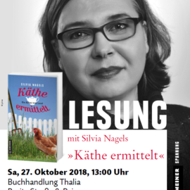 Lesung bei Thalia zur Kulturmeile 27./28.10.18
