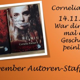 November Autoren Staffel Cornelia Kiener