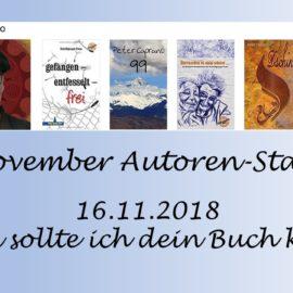 November Autoren Staffel Peter Caprano