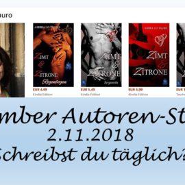 November Autoren Staffel Ambra Lo Tauro