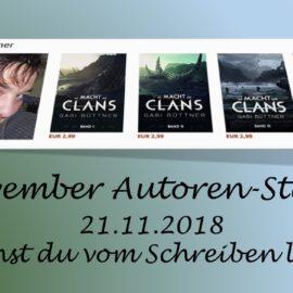 November Autoren Staffel Gabi Büttner