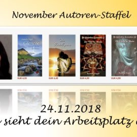 November Autoren Staffel Daniela Vogel