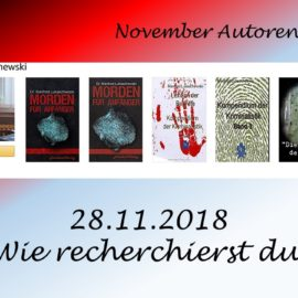 November Autoren Staffel Manfred Lukaschewski