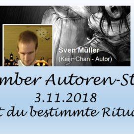 November Autoren Staffel Sven Müller alias Keiji-Chan