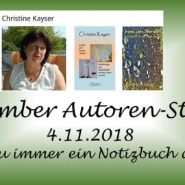November Autoren Staffel Christine Kayser