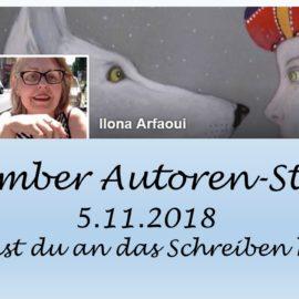 November Autoren Staffel Ilona Arfaoui
