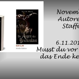 November Autoren Staffel Eva D. Black